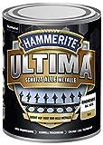 5379756 Hammerite ULTIMA Metallschutz Lack Rost 750ml Matt Verkehrsweiß RAL 9016
