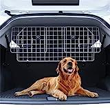 Hundegitter Auto Gepäcknetz, Trenngitter Kofferraum Hundeschutzgitter, Verstellbar Kopfstützen Autogitter Trennnetz Auto Dog Guard Kofferraumschutz Hund Schutzgitter Heckgitter kofferraumgitter Netz