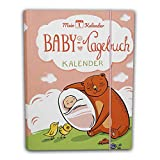 Mein 1. Kalender das Baby Tagebuch, Babys erstes Jahr, Entwicklungsberater, Erinnerungsalbum