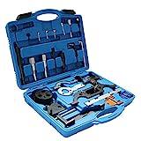 Fetcoi Motoreinstell Werkzeug Kompatibel mit Opel, Arretierwerkzeug Zahnriemen Werkzeug Satz mit Tragbarer Plastikbox
