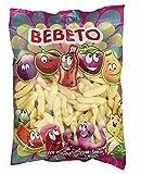 Premium Fruchtgummis | 1000 Gramm XXL Packung | Halal Süßigkeiten Geschenk | Sweets Candy | Kinder Gummibärchen | Fruchtgummi 1 kg Bebeto (Bananen)