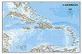 Karibik Classic, laminiert: NATIONAL GEOGRAPHIC Länder und Regionen: Wall Maps Countries & Regions (National Geographic Reference Map)