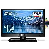 Cello C1920FSDE 19' (47 cm Diagonale) HD Ready LED TV mit eingebautem DVD Player und DVBT2 S2 Triple Tuner