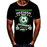 Bremen Fussball Stadt T-Shirt (XL)