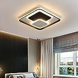 Wohnzimmerlampe,Schlafzimmer Deckenleuchte mit Fernbedienung,Schmiedeeiserne Deckenlampe mit Fernbedienung,Acryl lampen geeignet für Schlafzimmer, Küchen und Flure