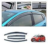 Auto Autofenster Regenschutz Auto Rauchfenster Sun Rain Visor Deflector Guard Zubehör Für Ford Fiesta Fließheck 2010-2018 Fenster Deflektoren