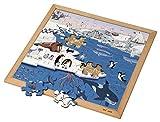 Educo | Wortschatzpuzzle - Polargebiet (49) | Lehrmaterialien Lesen & Schreiben | Sprache - Wörter/WortschatzPuzzle - Spielen und lösen | Ab 48 Monate | Bis 72 Monate