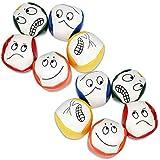 Joyibay Jonglierbälle für Anfänger, 10 STÜCKE Jonglierball Set Kreative Lustige Pädagogische Jonglierbälle zum Ballspielen für Jungen, Mädchen und Erwachsene, Langlebig und Weich