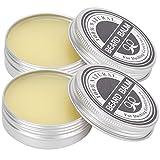 60g Bartbalsam, Natürlicher Bartwachs Weichspüler Conditioner Bartbalsam Bartpflege Pflegende Anti-Juckende Bart Styling Pflegecreme für Männer