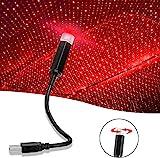 Taotuo Kfz-Atmosphärenlicht, Sternatmosphähre für den Himmel im Auto, LED-USB-Nachtlicht, verschiedene Modi, USB-Projektor-Nachtlicht, romantische Atmosphäre, Dekoration