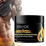 Knowoo 50G Fettverbrennungs-Fitnesscreme Bauchmuskelverstärker Fettverbrennende Muskelbauch-Anti-Cellulite-Cremes zur Gestaltung der perfekten Größe