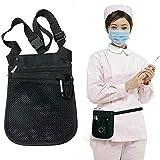 Massage-AED Gürteltasche für Krankenschwestern,Nurse Vet Taillentasche Tool Carry Bag Organizer Verstellbarer Gürtelriemen Taillenpackung Women Organizer Bum wasserdichte Handtasche