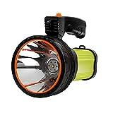 Superhelle LED-Taschenlampe, wiederaufladbar, hohe Lumen, 9000 mAh, für Camping und Outdoor-Aktivitäten
