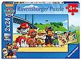 Ravensburger Kinderpuzzle - 09064 Heldenhafte Hunde - Paw Patrol Puzzle für Kinder ab 4 Jahren, mit 2x24 Teilen
