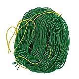 æ— Gartennetz, robustes Pflanzen-Rankgitter, Vogelnetz, Pflanzen-Erbsnetz für Bohnen, Früchte, Kletterpflanzen (5 x 1,8 m)