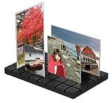 Umbra Mehrfach-Bilderrahmen Cityscape zum Aufstellen, schwarz
