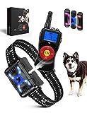 SOYAO Anti-Bell-Hundehalsbänder mit 800M Fernbedienung, Hunde-Bell-Abschreckungsgeräte mit Spray/Vibration/Ton-Modi für Hundetraining, Bellhalsband für kleine, mittelgroße und große Hunde.