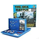 Versenken Brettspiel Intelligentes Spielzeug Zusammenspielzeug,Sea Battle Brettspiel,Traditionelle Strategie Brettspiele Mit Schlachtschiffen