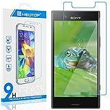 N NEWTOP [1 Stück] Displayschutzfolie aus gehärtetem Glas für Sony Xperia XZ1 Compact, 0,3 mm, Härtegrad 9H, gehärtetes Glas, Displayschutz, stoßfest, k