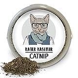 Katzenminze (Catnip) 60g XXL Dose, Premium-Qualität aus Kanada. Zum Befüllen von Katzenspielzeug