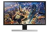Samsung U28E590D Monitor (HDMI, 28 Zoll, 71,12cm, 1ms Reaktionszeit, 60Hz Aktualisierungsrate, 3840 x 2160 Pixel) schwarz/silb
