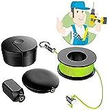 Magnetisches Kabel-Angelwerkzeug, Wiremag-Abzieher, Zug-Werkzeug Zugdraht hinter der Wand, Führung Kabel-Laufgerät Magnet-Drahtführer /Vatertagsgeschenk