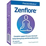 Zenflore von PrecisionBiotics | 30 Kapseln (Monatspackung) | Unterstützt Geist und Körper bei Alltagsstress und bei stressbedingter Müdigk