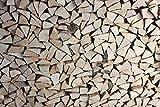 Brennholz Buche, Feuerholz, Kaminholz, Kaminofen, Feuerschale, Lagerfeuer (Holz, 33 cm Scheitlänge)