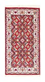 Wawa Rugs Traditionelle antike persische Wollteppiche, rechteckige rutschfeste Fläche Läufer für Wohnzimmer Schlafzimmer Dekor Teppich (90x160 cm) Rot