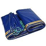 LILIS Schutzhülle Abdeckung für Gartenmöbel Plane im Freien kampierende wasserdichte Zelt Verschleißfeste Corner Verstärkte Tarps - 400g / □ (Color : Blue, Size : 4x5M)