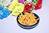 Wonderlist Handicrafts Salatschüssel, Suppenschüsseln, runde Servierschüssel aus Kunstharz, BPA-frei, Müslischale, perfekt für Salat, Obst, Dessert, Snacks, Servieren und Rührschüsseln (blau)
