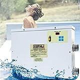 BoomSKLK 45KW Luft Wärmepumpe für Pools, 220V/380V Poolheizungsthermostat, Poolheizung Schwimmbadheizung, für Schwimmbäder Hydrotherapie-Pools Landschafts-und Badebecken (Size : 220V 5.5KW)