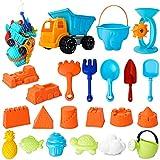 LOVEXIU Sandkasten Spielzeug,Sandspielzeug Set,Strandspielzeug Kinder,Stück Strandspielzeug SandföRmchen Mit ? Für Familienurlaub, Sommeraktivitäten