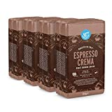 Amazon-Marke: Happy Belly Gemahlener Röstkaffee 'Espresso Crema' (4 x 250g)