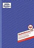 AVERY Zweckform 1773 Stunden-Nachweis (A4, selbstdurchschreibend, von Rechtsexperten geprüft, für Deutschland u. Österreich zur lückenlosen Arbeitszeiterfassung, 2x40 Blatt) weiß/gelb
