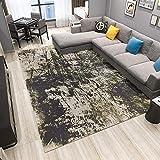SunYe Moderne Minimalistische Teppich Geometrische Druck Fußmatten Wohnzimmer Couchtisch Schlafzimmer Bett Großflächige Teppich Fuß