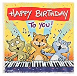 Depesche 3865.016 Glückwunschkarte mit Musik und Motiv von Archie, Geburtstag
