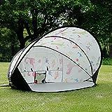 JeeKoudy Wasserdichtes automatisches Campingzelt, Pop Up Zelt Strandzelt für 2 Personen, Familiencampingzelt, für Outdoor, Wandern Bergsteigen Reisen