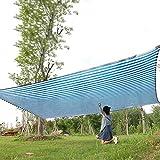 2mX4m 95% Sun Shade ClothBlue Weiß Mit Grommets UV-beständig Ineinander greifen-Netz-Abdeckung for Garten Innenhof Hinterhof-Gewächshaus Outdoor (Größe: 4m x 6m) Größe: 6m x 8m ( Size : 3m x 4m )