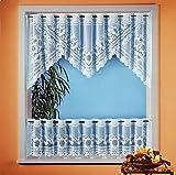 Gardine Vorhang Scheibengardine 2-teiliges Bistro-Set HxB 60x160 cm AKTION Typ160