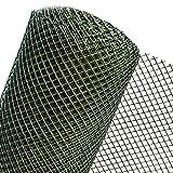 HaGa® Kunststoffzaun Zaun Gartenzaun 1m Höhe Maschenweite 15mm (Meterware)