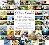 Edition Seidel Set 50 Premium Postkarten Motivationskarten Kommunikationstraining Konversation-Spiel Coaching Tools Karten Landschaften Natur Gefühlskarten Selbst-Achtsamkeit Sprüche