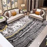 ZAZN Teppich Im Nordischen Stil Wohnzimmer Sofa Couchtisch Decke Schlafzimmer Voller Ladenraum Haushalts Fußmatten rutschfest Verschleißfest Waschb