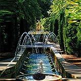 5 V Quelle Solar Power Pumpen Wasser Zirkulationspumpen Kunststoff Solar Wasserzirkulation für Gartenreinigung Vogelbäder