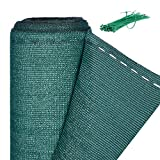 Relaxdays Zaunblende, Sichtschutz für Gartenzaun & Balkongeländer, HDPE Gewebe, UV-stabilisiert, wetterfest, 1x15m, grün