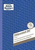 AVERY Zweckform 307 Zählprotokoll für offene Ladenkassen (A5, von Steuerberatern empfohlen, mit Ausfüllhilfe, für Deutschland zur einfachen Zählung des Barbestands, 50 Blatt) 10er Pack