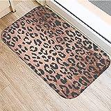 OPLJ Stein Marmor Muster Anti-Rutsch Waschbar Teppich Fußmatte Fußmatte Outdoor Küche Wohnzimmer Bodenmatte Teppich A1 50x80cm