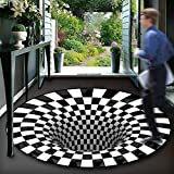 VOVTT Home Teppich Wohnzimmer Kurzflor Abstraktes Geometrisches Muster, Versch,100x100