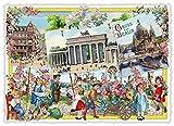 Edition Tausendschön 3D-Städte-Postkarte'Berlin, Berlin - Gruß aus Berlin' PK812 Größe: 10,5x15 cm