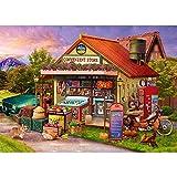 Puzzle 1000 Teile,Puzzle für Erwachsene,Impossible Puzzle,Puzzle farbenfrohes Legespiel,Geschicklichkeitsspiel für die ganze Familie, Erwachsenenpuzzle ab 14 Jahren-Lebensmittelgeschäft.